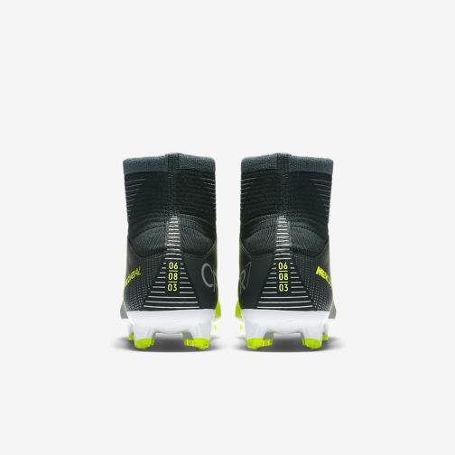 Nike Football Shoes Mercurial Superfly V Cr7 Fg  Junior Cristiano Ronaldo SEAWEED/VOLT-HASTA-WHITE Tifoshop