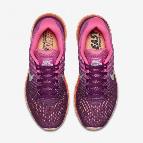 Nike Shoes Air Max 2017  Woman BRIGHT GRAPE/WHITE-FIRE PINK-PINK BLAST Tifoshop