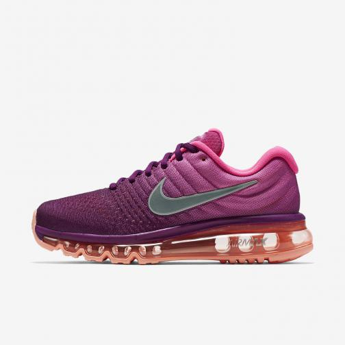 Nike Shoes Air Max 2017  Woman BRIGHT GRAPE/WHITE-FIRE PINK-PINK BLAST
