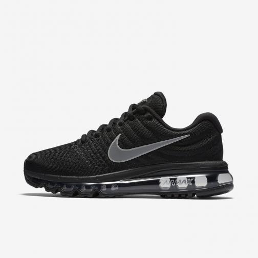 Nike Shoes Air Max 2017  Woman BLACK/WHITE-ANTHRACITE
