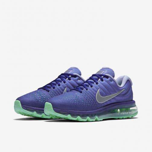 Nike Chaussures Air Max 2017  Femmes CONCORD/WHITE-PERSIAN VIOLET Tifoshop