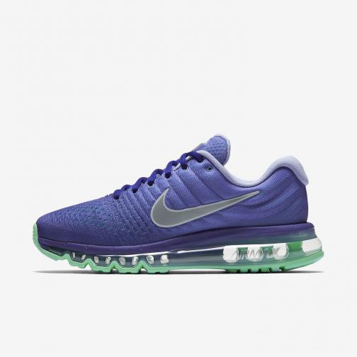 Nike Chaussures Air Max 2017  Femmes CONCORD/WHITE-PERSIAN VIOLET
