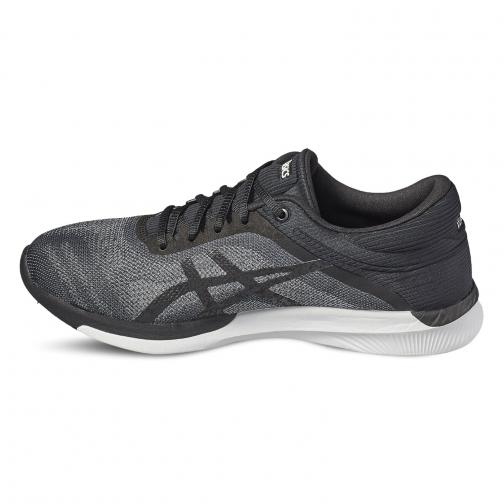 Asics Shoes Fuzex Rush  Woman MIDGREY/BLACK/WHITE Tifoshop