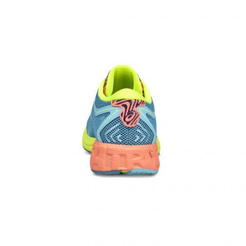 Asics Chaussures Noosa Ff  Femmes AQUARIUM/FLASH CORAL/SAFETY YELLOW Tifoshop