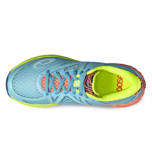 Asics Shoes Noosa Ff  Woman AQUARIUM/FLASH CORAL/SAFETY YELLOW Tifoshop