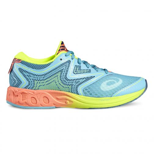 Asics Shoes Noosa Ff  Woman AQUARIUM/FLASH CORAL/SAFETY YELLOW