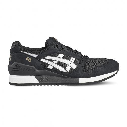 Asics Tiger Shoes Gel-respector  Unisex BLACK/WHITE