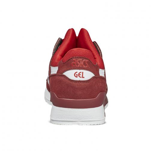 Asics Tiger Shoes Gel-lyte Iii  Unisex TRUE RED/WHITE Tifoshop
