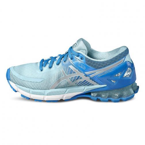 Asics Schuhe Gel-kinsei 6  Damenmode DIVA BLUE/SILVER/AQUA SPLASH Tifoshop