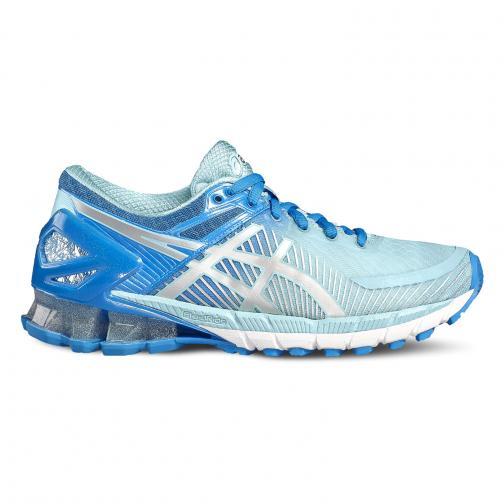 Asics Schuhe Gel-kinsei 6  Damenmode DIVA BLUE/SILVER/AQUA SPLASH