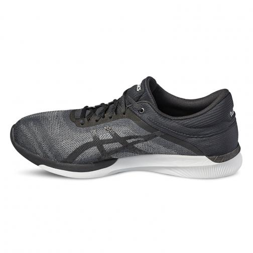 Asics Chaussures Fuzex Rush MIDGREY/BLACK/WHITE Tifoshop