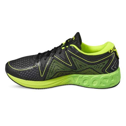 Asics Chaussures Noosa Ff BLACK/GREEN GECKO/SAFETY YELLOW Tifoshop