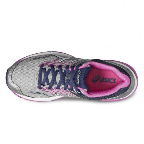 Asics Shoes Gt-2000 5  Woman MIDGREY/WHITE/PINK GLOW Tifoshop