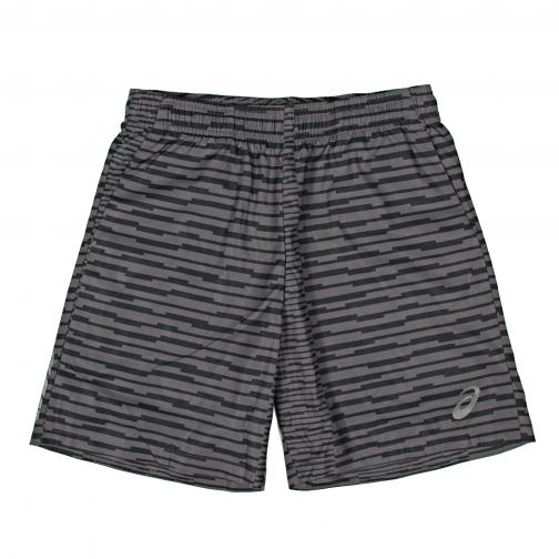 Asics Short Pants Fuzex 7in Print Short SQ DARK GREY