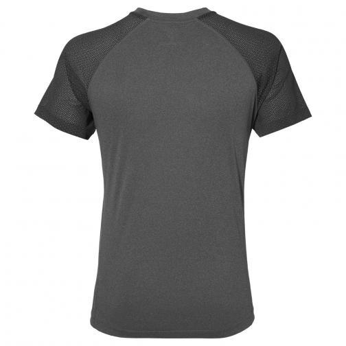 Asics T-shirt Lite-show Ss Top Dark Grey Heather Tifoshop