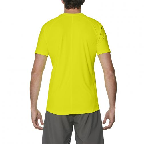 Asics T-shirt Asics Stripe Ss Top Giallo Tifoshop