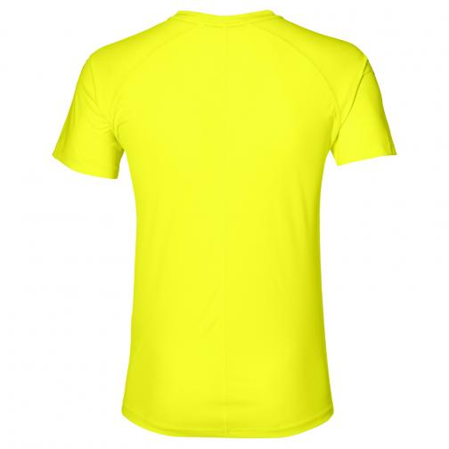Asics T-shirt Asics Stripe Ss Top SAFETY YELLOW Tifoshop