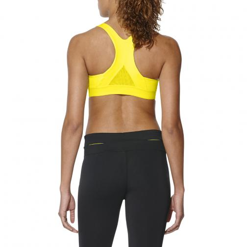 Asics Top Race Bra  Donna Giallo Tifoshop