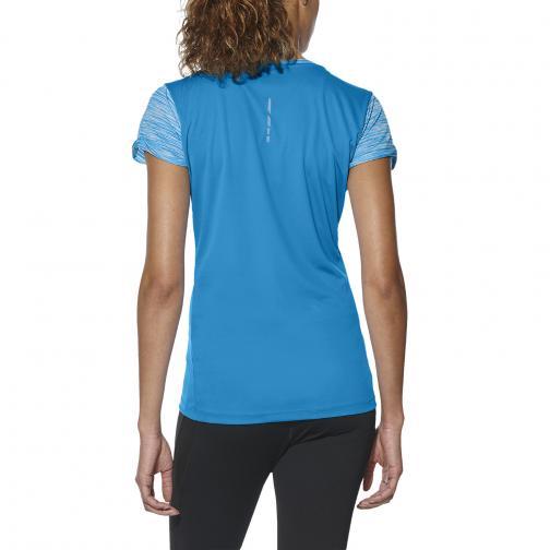 Asics T-shirt Fuzex Ss Top  Donna Blu Tifoshop