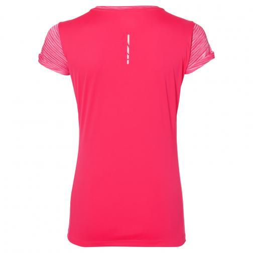 Asics T-shirt Fuzex Ss Top  Donna Rosa Tifoshop