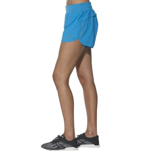 Asics Short Fuzex 4in Short  Femmes DIVA BLUE Tifoshop