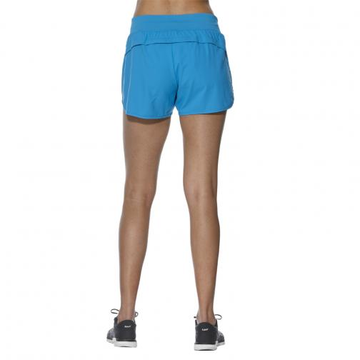 Asics Pantaloncino Fuzex 4in Short  Donna Blu