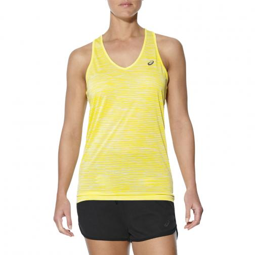 Asics Tank Top Fuzex Layering Tank  Woman BLAZING YELLOW