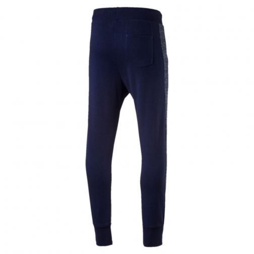 Puma Pantalon Figc Azzurri Sweat Pants Italy Peacoat-Peacoat Heather Tifoshop