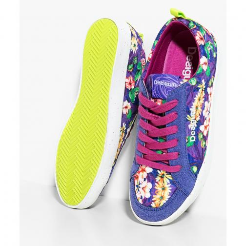 Desigual Shoes  Woman Purple Tifoshop