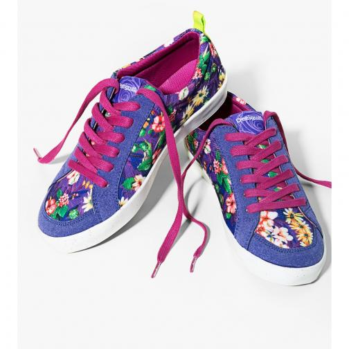 Desigual Shoes  Woman Purple