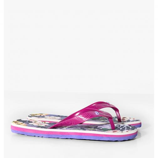 Desigual Tongs  Femmes Purple Tifoshop