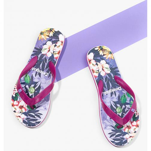 Desigual Tongs  Femmes Purple