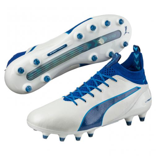 Puma Chaussures De Football Evotouch Pro Fg White Tifoshop