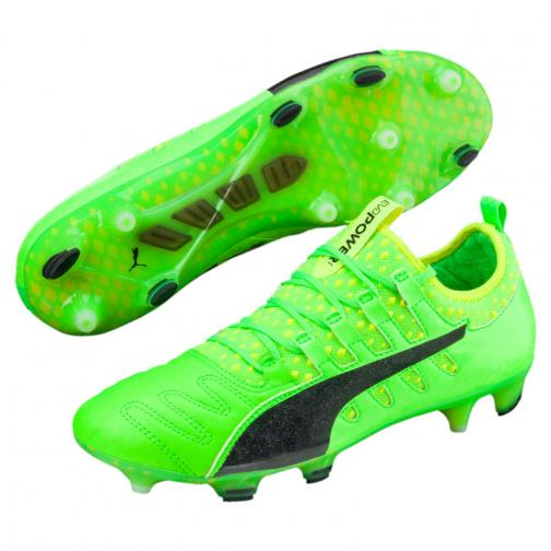 Puma Scarpe Calcio Evopower Vigor 1 K Lth Fg Verde Tifoshop