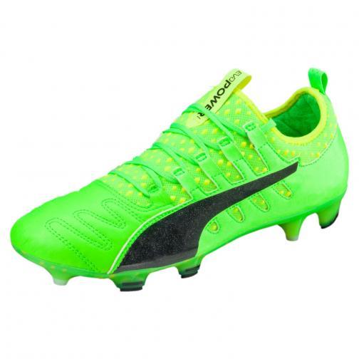 Puma Scarpe Calcio Evopower Vigor 1 K Lth Fg Verde