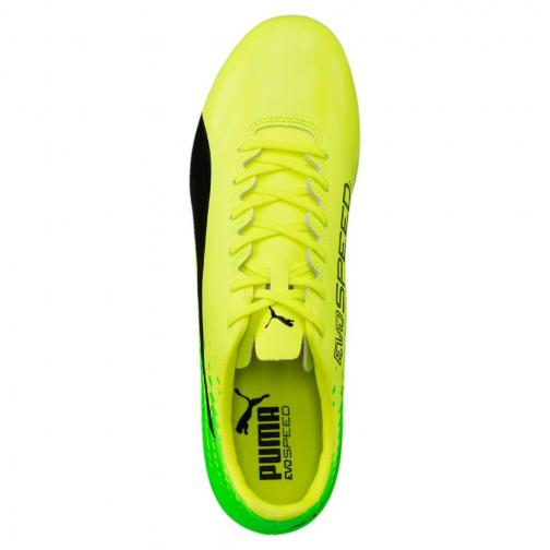 Puma Football Shoes Evospeed 17.2 Fg Yellow Tifoshop