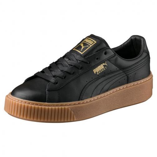 Puma Chaussures Basket Platform Core  Femmes Black