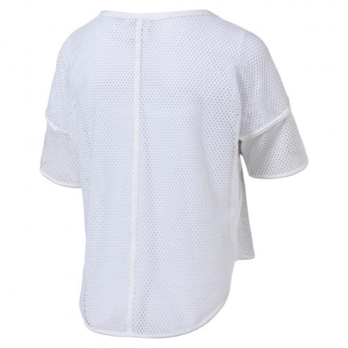 Puma T-shirt Explosive Mesh  Donna Bianco Tifoshop