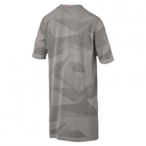 Puma T-shirt Evoknit Image Grigio Tifoshop