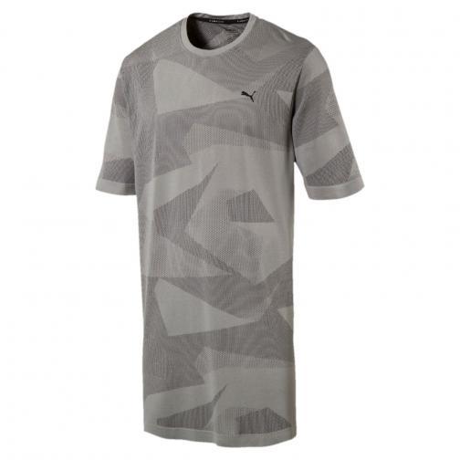 Puma T-shirt Evoknit Image Grigio