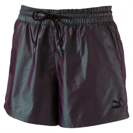Puma Short Irridescent  Femmes Black