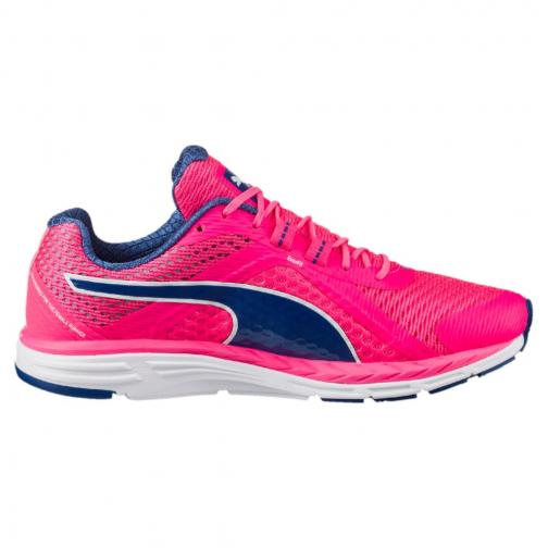 Puma Schuhe Speed 500 Ignite Wn  Damenmode KNOCKOUT PINK-TRUE BLUE Tifoshop