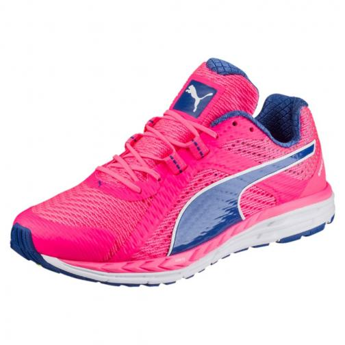 Puma Schuhe Speed 500 Ignite Wn  Damenmode KNOCKOUT PINK-TRUE BLUE