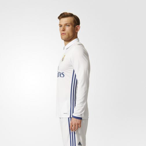 Adidas Jersey Home Real Madrid   16/17 Crystal White/Raw Purple Tifoshop
