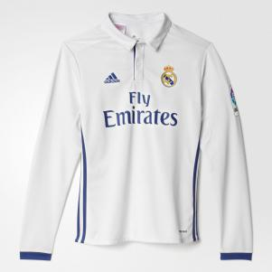 Maglia Home Real Madrid Junior LS