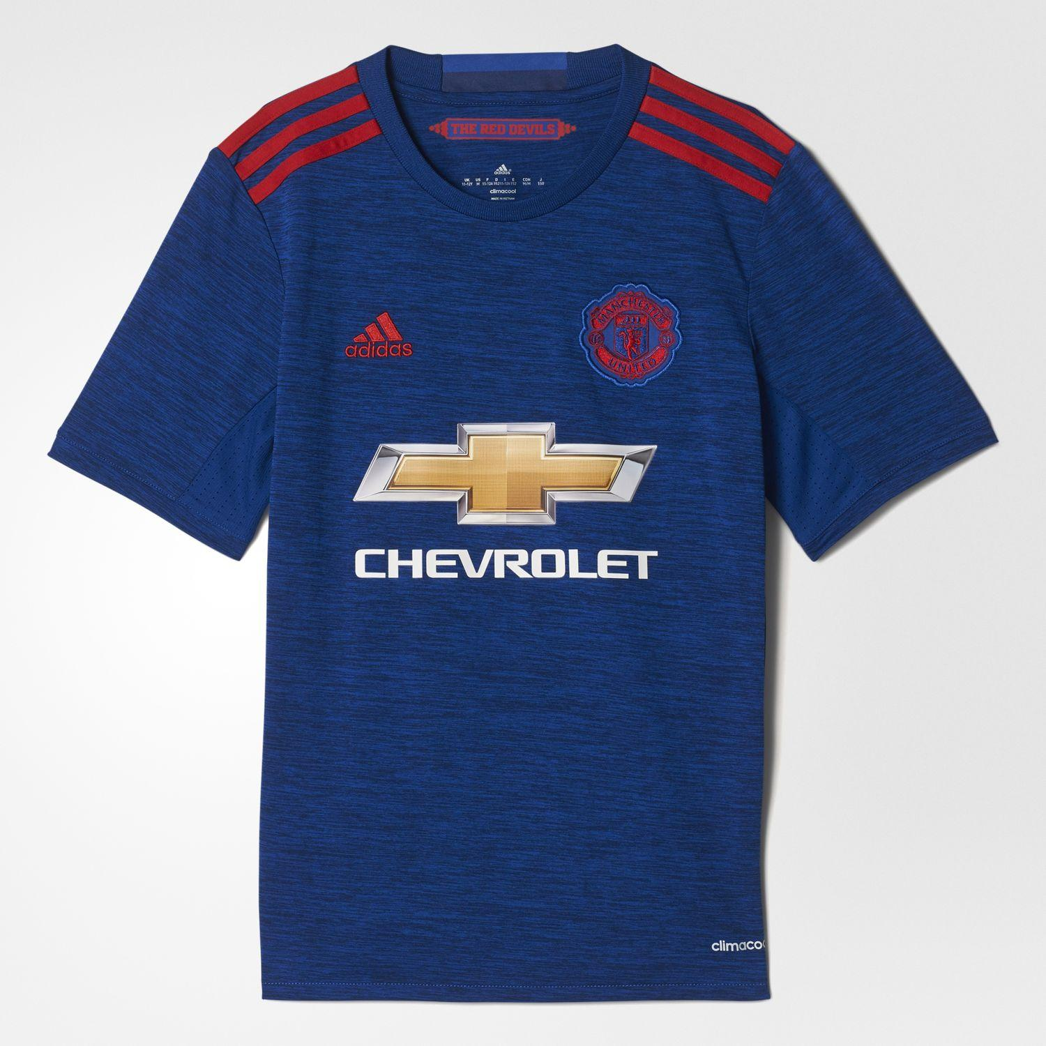 Adidas Maillot De Match Away Manchester United Enfant  16/17