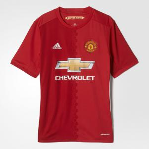 Adidas Maglia Gara Home Manchester United Junior  16/17
