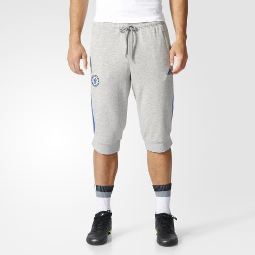 Adidas Short  Chelsea medium grey heather/chelsea blue Tifoshop