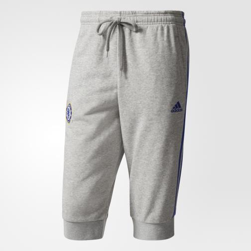 Adidas Short  Chelsea medium grey heather/chelsea blue