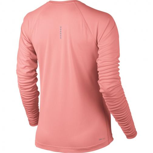 Nike Sweater Dry Miler  Woman BRIGHT MELON/BRIGHT MELON Tifoshop